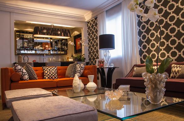 Conhe a todos os ambientes da casa cor residenciais for Sala estilo contemporaneo