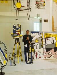Roy Lichtenstein atelier