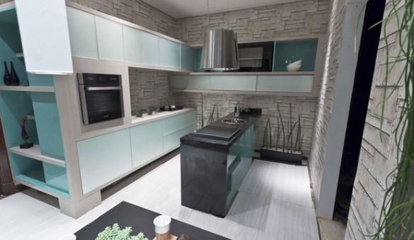 Cozinha do Apartamento do Jovem Solteiro - Jacqueline Fumagalli