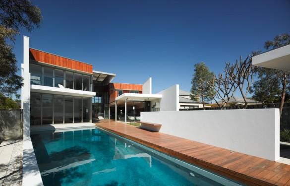City Beach House Location; Perth Western Australia  Architects; Iredale Petersen Hook