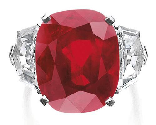 3f639ed0206 Sunrise Ruby. A pedra da Cartier foi vendida ...