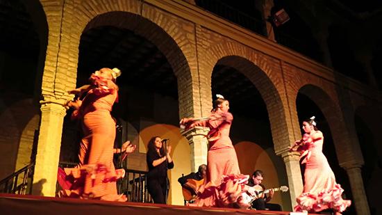 Os famosos shows de flamenco no Tablao Cardenal