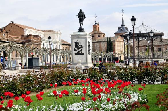 ALCALA-plaza-cervantes