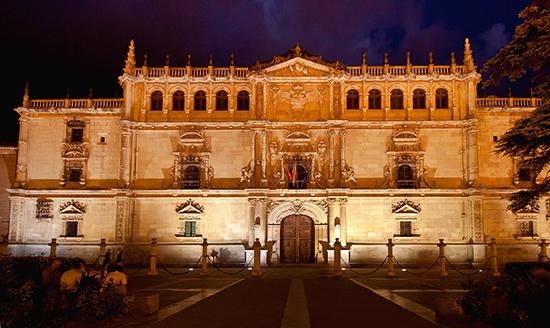 O famoso Colegio Mayor de San Ildefonso