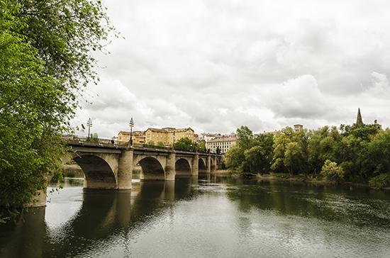 Logrono city view
