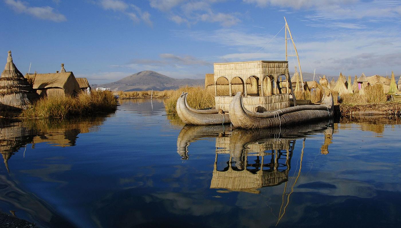Titicaca Ilha de Uros