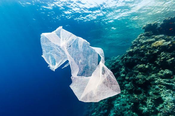 Chile - plastico no mar