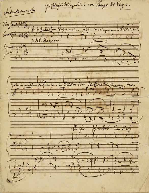 Partitura Johannes Brahms