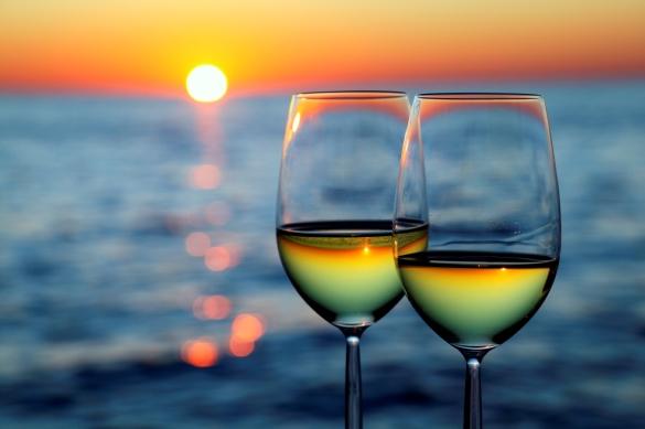 Vinhos e verão foto